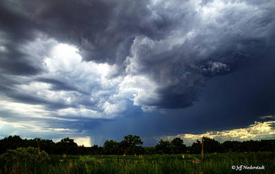 Photograph - Sudden Storm by Jeff Niederstadt