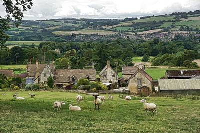 Sudeley Hill Farm Art Print