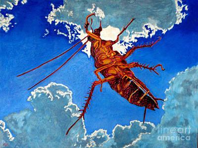Cockroach Painting - Sueno De La Cucaracha by Gerhardt Isringhaus