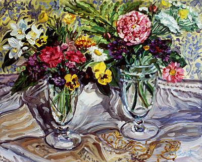 Sue's Rose Art Print by Melissa Sarat