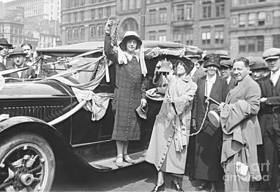 Suffragette Rosalie Jones 1924 Art Print by Padre Art