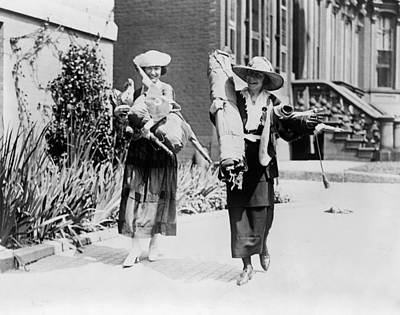 Photograph - Suffragettes, C1920 by Granger