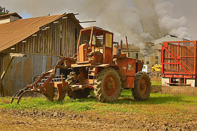 Photograph - Sugar Cane Loader by Ronald Olivier