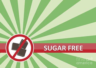 Royalty-Free and Rights-Managed Images - Sugar Free Banner by Tim Hester