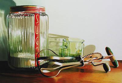 Depression Painting - Sugar High by Denny Bond