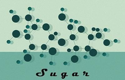 Sweets Digital Art - Sugar by Kate Paulos