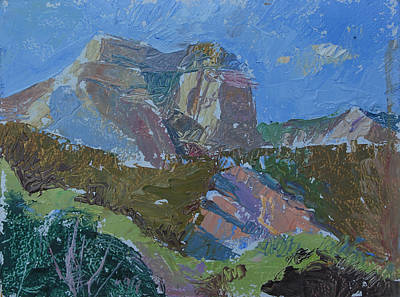 Maynard Dixon Painting - Sugar Knoll Ut by Daryl Urig