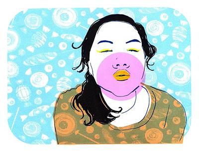 Sugar Lips Art Print by Vanessa Baladad