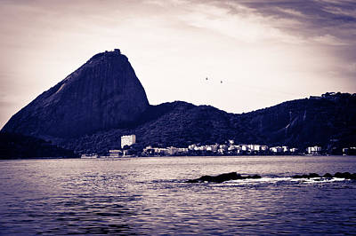 Photograph - Sugar Loaf From A Boat At Baia De Guanabara In Rio De Janeiro by Celso Diniz