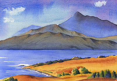 Painting - Sugar Loaf Mountain Glengariff County Cork by Kate Shannon