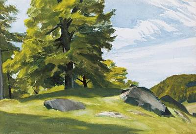 Sugar Maple Print by Edward Hopper