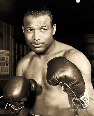 Photograph - Sugar Ray Robinson by Roberto Prusso