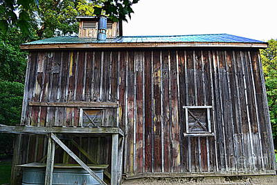 Indiana Photograph - Sugar Shack Wood by Amy Lucid