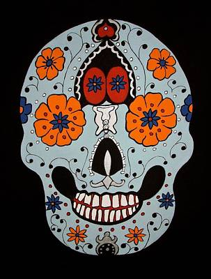 Painting - Sugar Skull by Stephanie Moore