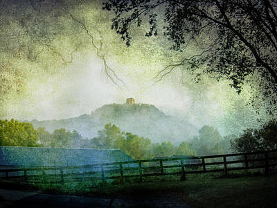 Photograph - Sugarloaf And Fog by Al  Mueller
