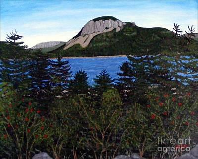 Sugarloaf Hill Art Print by Barbara Griffin