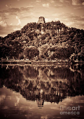 Art Print featuring the photograph Sugarloaf Reflection by Kari Yearous