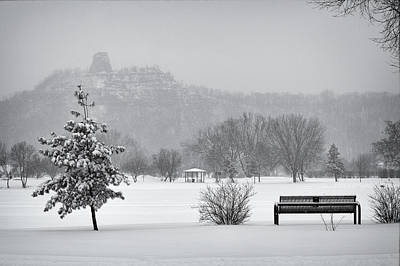 Photograph - Sugarloaf Snowstorm by Al  Mueller