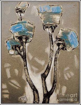 Pemaro Painting - Suggestion  Of Flowers Soffl1 by Pemaro