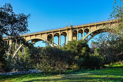 Photograph - Suicide Bridge by Robert Hebert