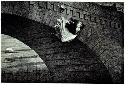 Cruikshank Photograph - Suicide by British Library