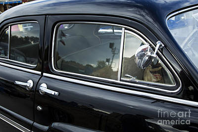 Photograph - Suicide Doors 1949 Mercury Classic Car In Color 3198.02 by M K Miller