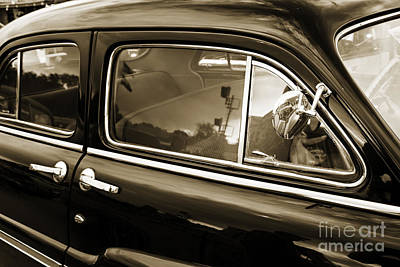 Photograph - Suicide Doors 1949 Mercury Classic Car In Sepia 3198.01 by M K Miller