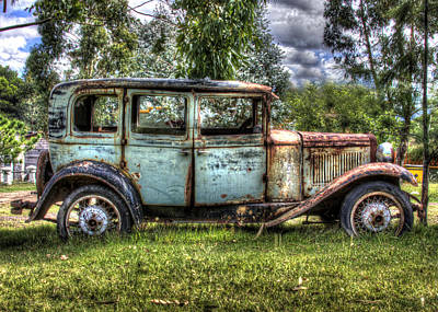 Wrecking Yard Photograph - Suicide Doors by Danny Pickens