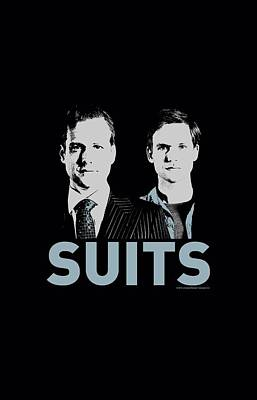 Ross Digital Art - Suits - Harvey And Mike by Brand A