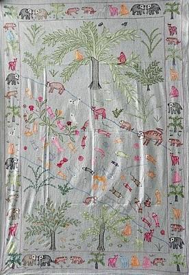 Gallerie Ak Tapestry - Textile - Sujni 02 by Sanju
