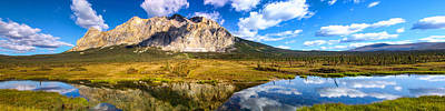 Dalton Highway Photograph - Sukakpak Reflection by Chad Dutson