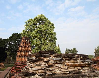 Sukhothai Historical Park - Sukhothai Thailand - 011311 Art Print by DC Photographer