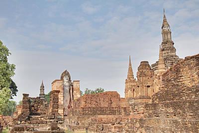 Sukhothai Historical Park - Sukhothai Thailand - 011316 Art Print by DC Photographer