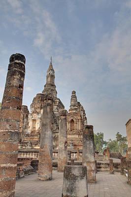 Sukhothai Historical Park - Sukhothai Thailand - 011324 Art Print