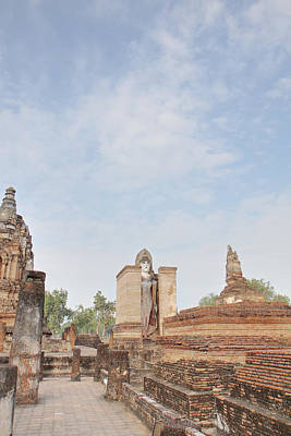 Sukhothai Historical Park - Sukhothai Thailand - 011325 Art Print