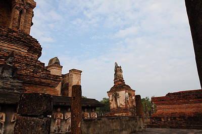 Sukhothai Historical Park - Sukhothai Thailand - 011327 Art Print by DC Photographer