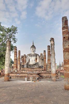 Sukhothai Historical Park - Sukhothai Thailand - 011331 Art Print by DC Photographer