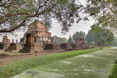 Wat Photograph - Sukhothai Historical Park - Sukhothai Thailand - 01134 by DC Photographer
