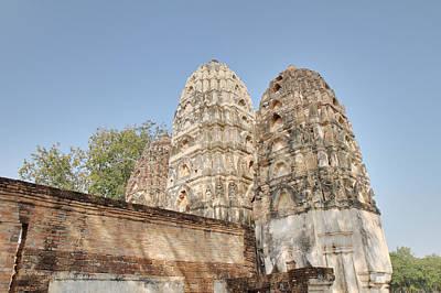 Sukhothai Historical Park - Sukhothai Thailand - 011355 Art Print by DC Photographer
