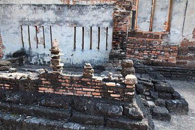 Sukhothai Historical Park - Sukhothai Thailand - 011361 Art Print