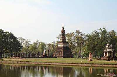 Asia Photograph - Sukhothai Historical Park - Sukhothai Thailand - 011363 by DC Photographer