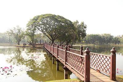 Historical Photograph - Sukhothai Historical Park - Sukhothai Thailand - 011364 by DC Photographer