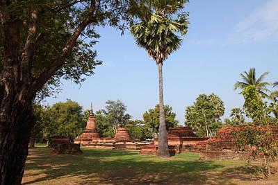 Sukhothai Historical Park - Sukhothai Thailand - 011367 Print by DC Photographer