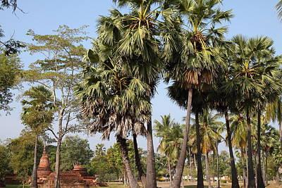Ancient Photograph - Sukhothai Historical Park - Sukhothai Thailand - 011369 by DC Photographer