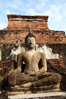 Wat Photograph - Sukhothai Historical Park - Sukhothai Thailand - 01137 by DC Photographer