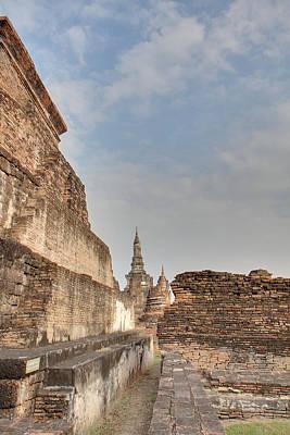Sukhothai Historical Park - Sukhothai Thailand - 01138 Art Print by DC Photographer