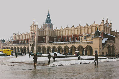 Cracow Photograph - Sukiennice by Pati Photography