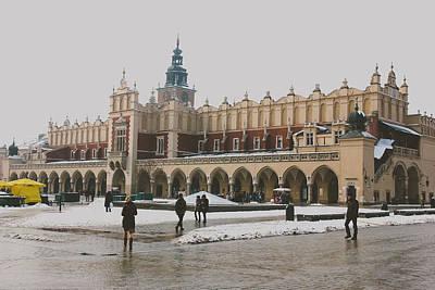 Cracovia Photograph - Sukiennice by Pati Photography