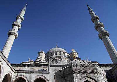 Suleymaniye Mosque In Istanbul Original