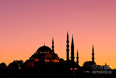 Photograph - Suleymaniye Sundown 01 by Rick Piper Photography